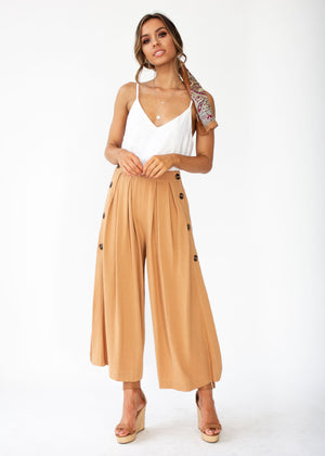 Brooklyn Culottes - Camel
