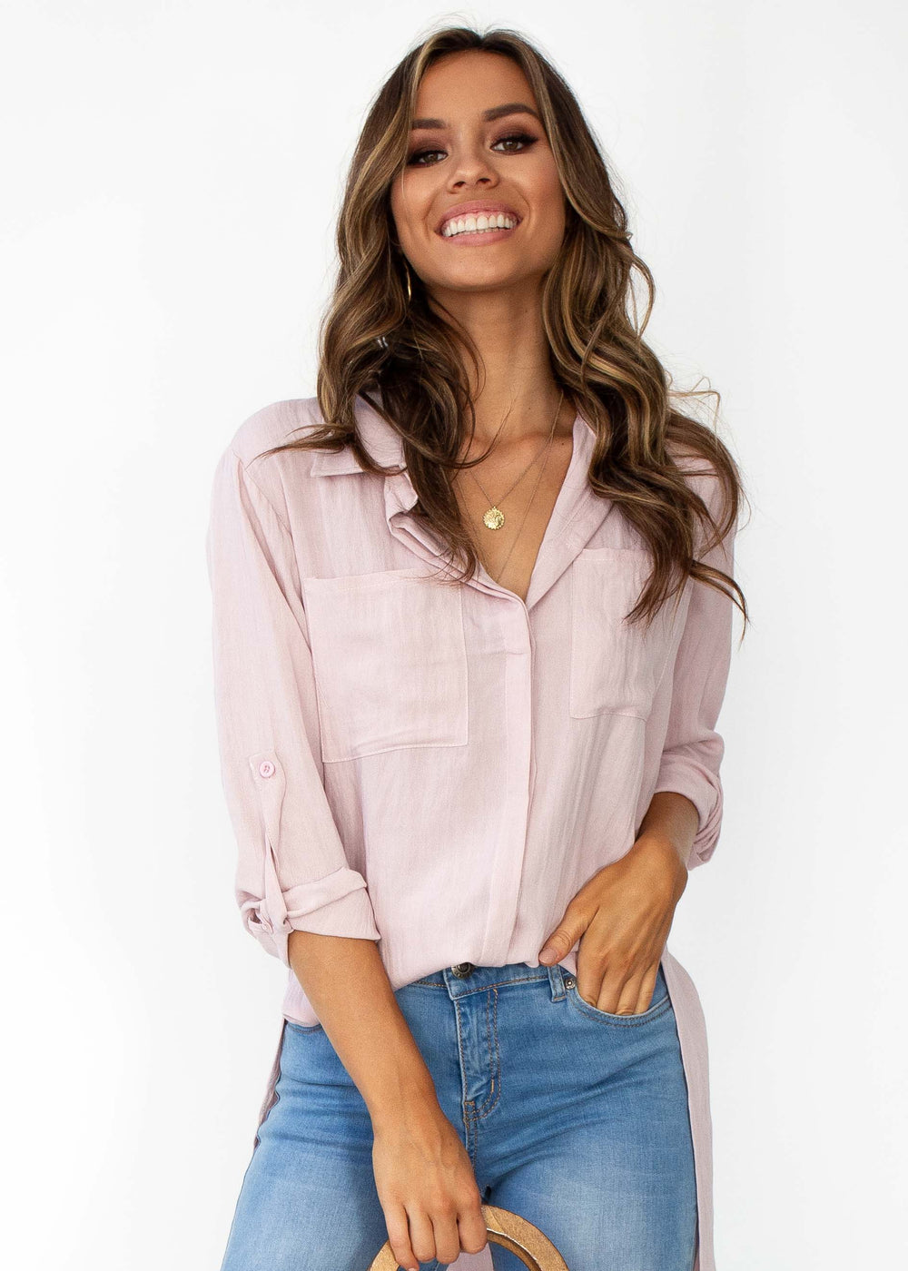 Women's Better For You Shirt - Blush