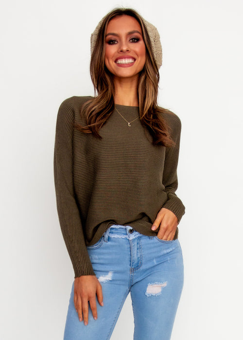 Women's Better With You Sweater - Khaki