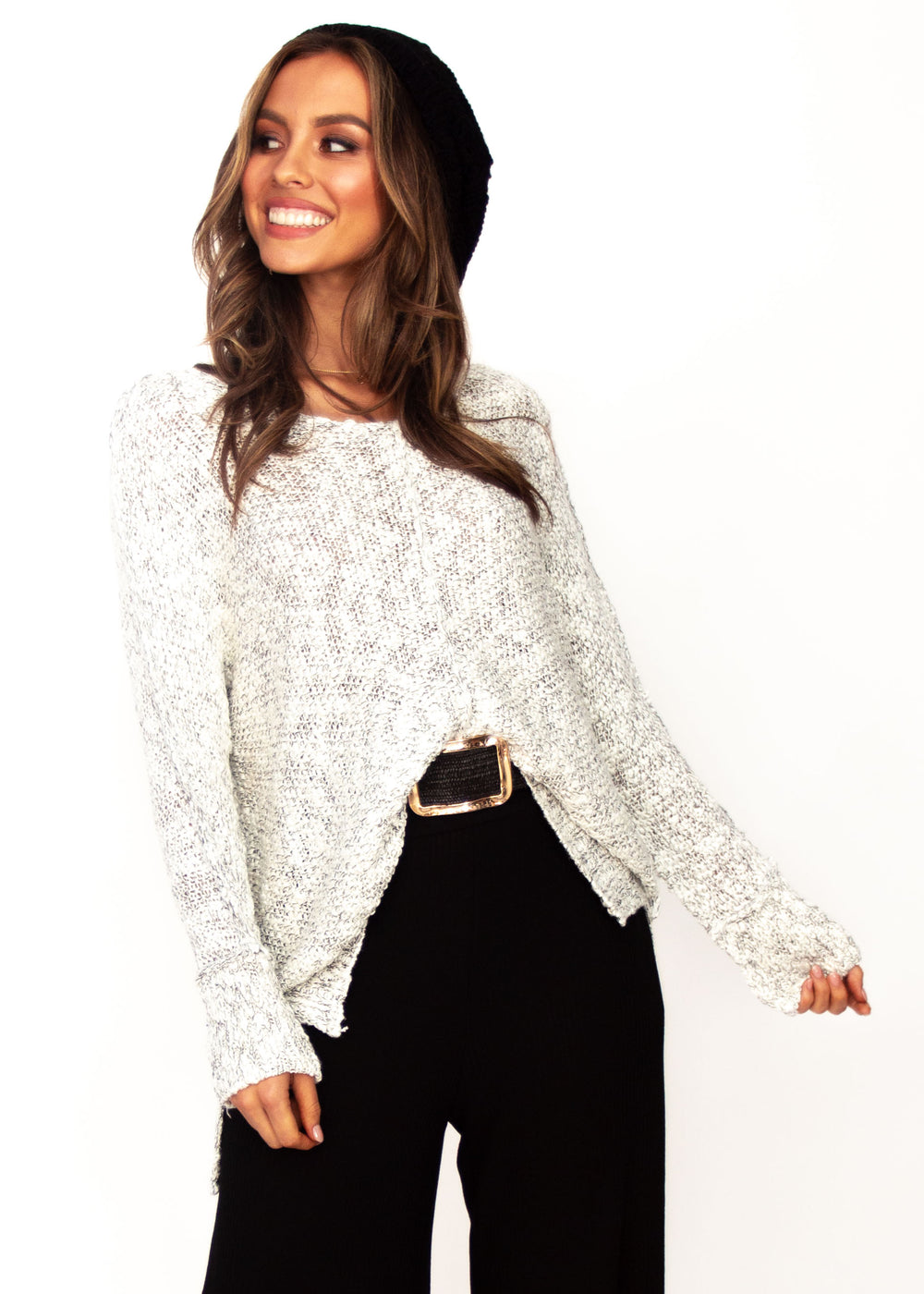 Women's After The Fall Sweater - White