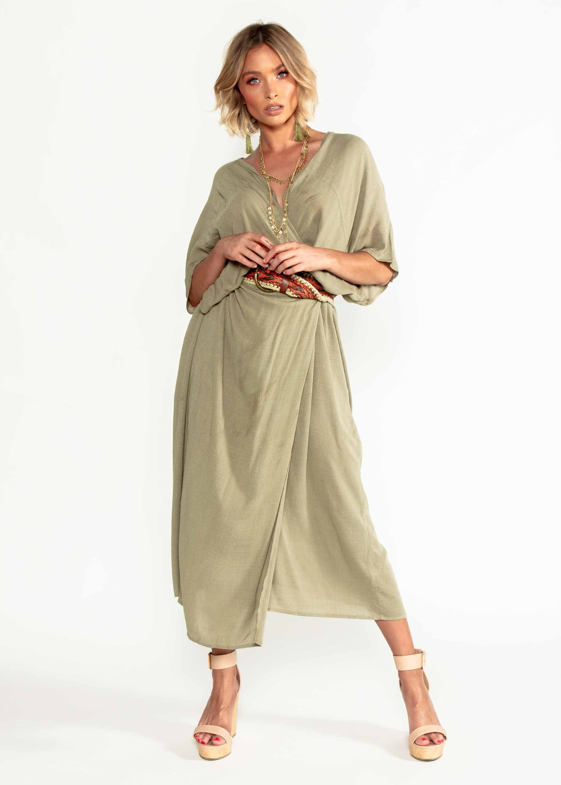 Sea You Cape - Khaki
