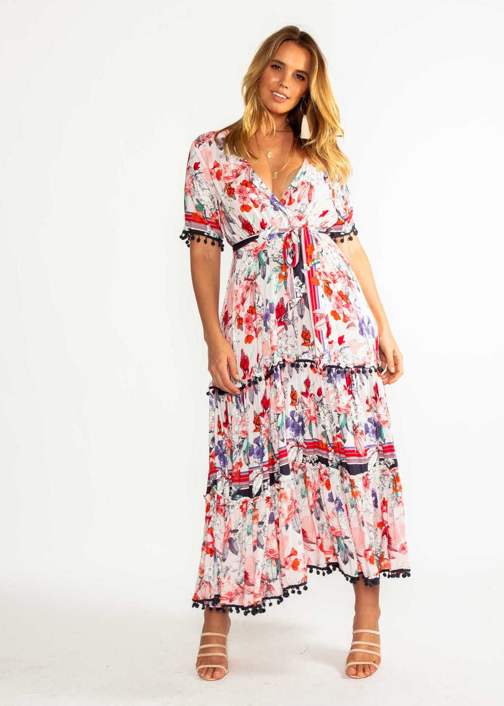 Bamboo Maxi Dress - Malone