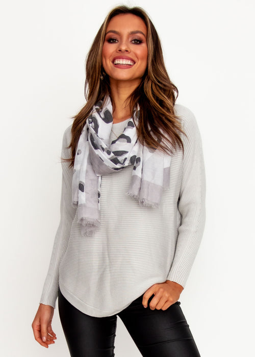 Women's Better With You Sweater - Silver