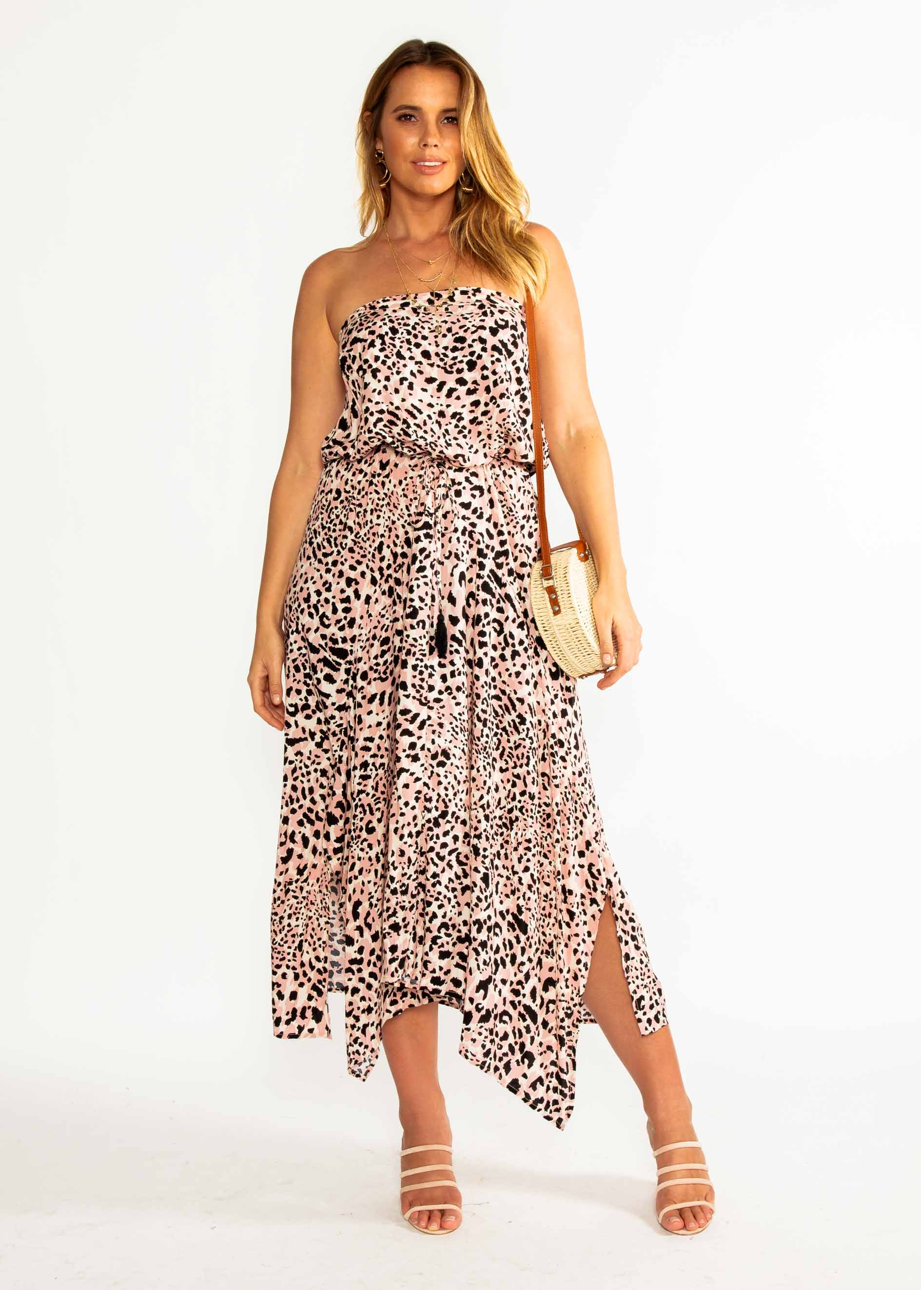 New Freedom Strapless Maxi Dress - Wilder