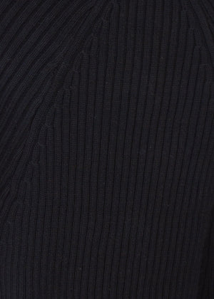 Kelsea Cropped Sweater - Black