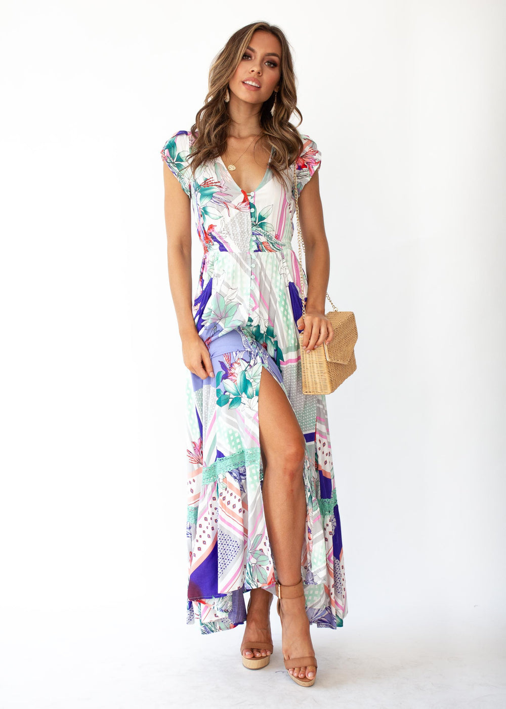 Carmen Maxi Dress - Gavi
