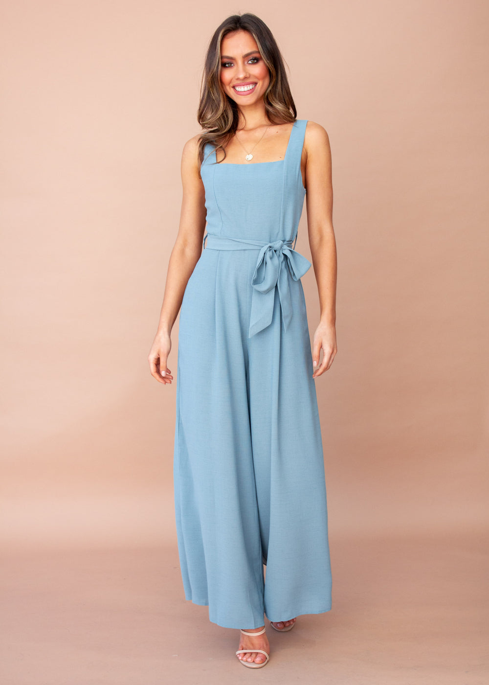 Ibiza Pantsuit - Powder Blue