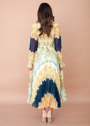 Leia Wrap Maxi Dress - Turkish Dreams