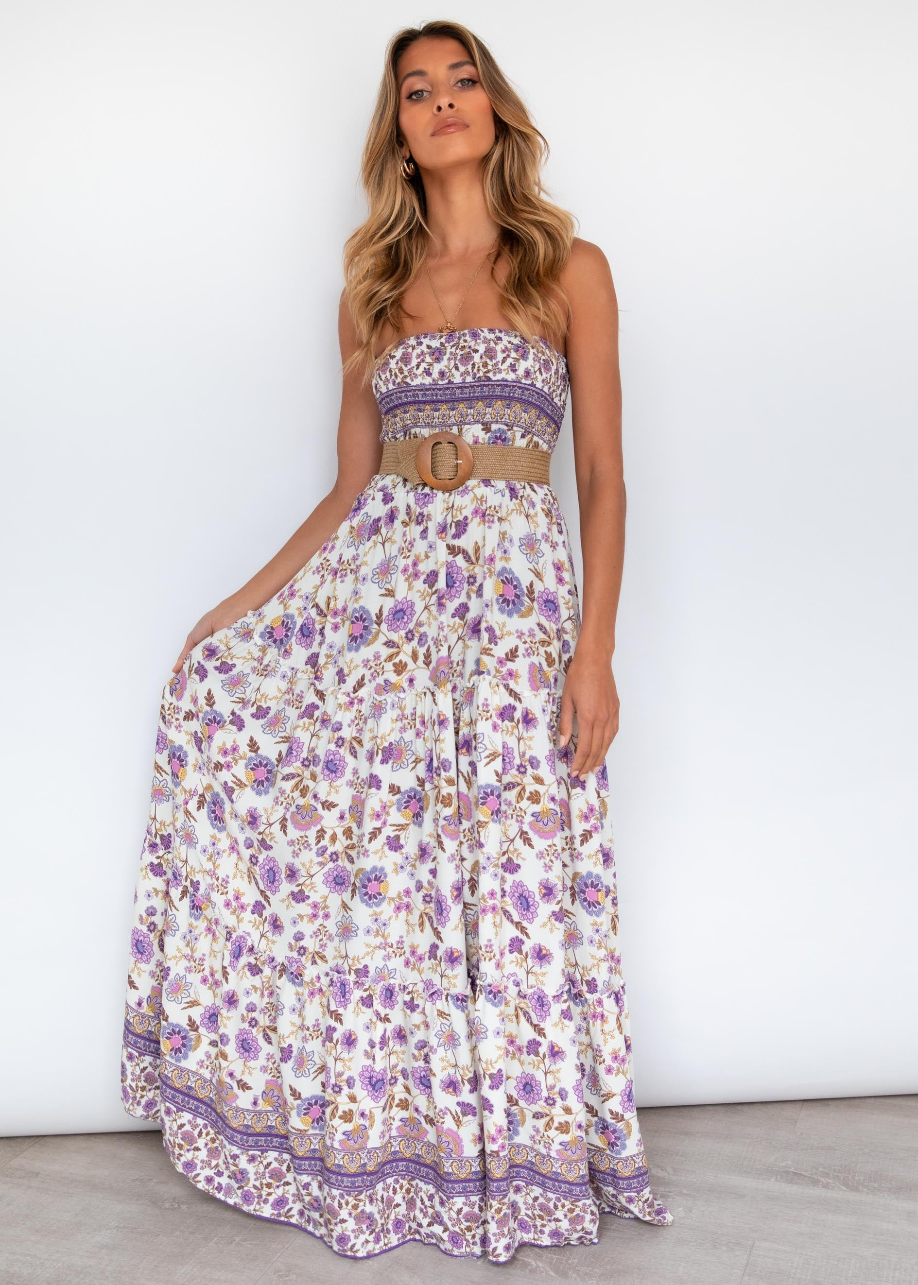 Claudia Maxi Dress - Amethyst