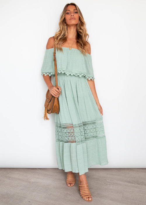 Annalee Maxi Dress - Mint