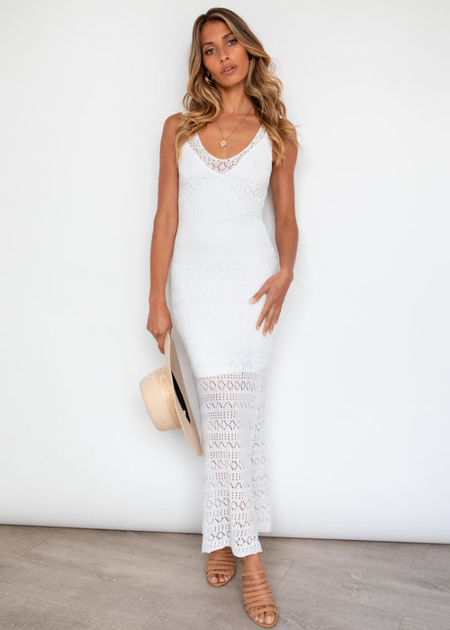 Emilea Maxi Dress - Off White