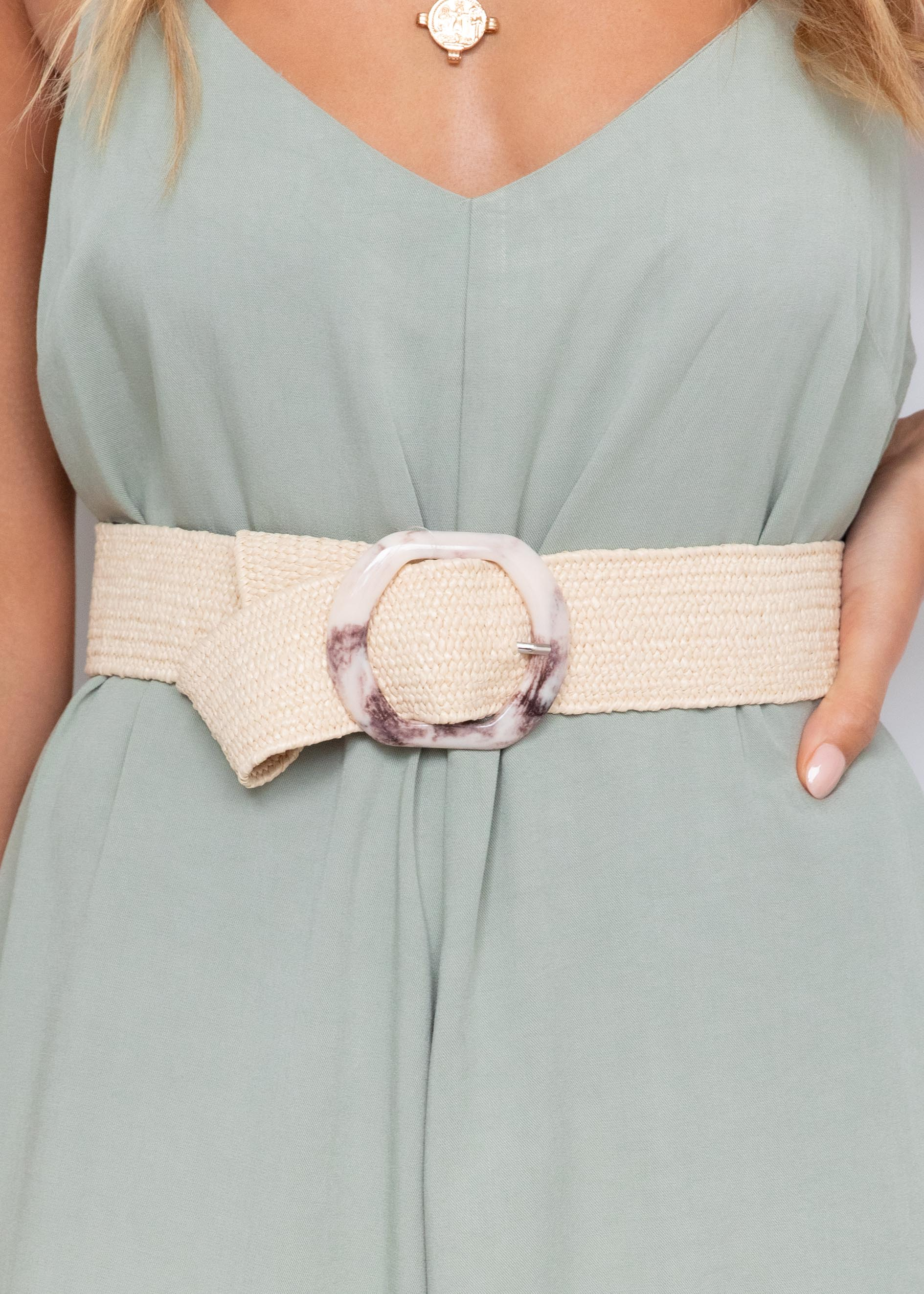 Seeley Belt - Cream