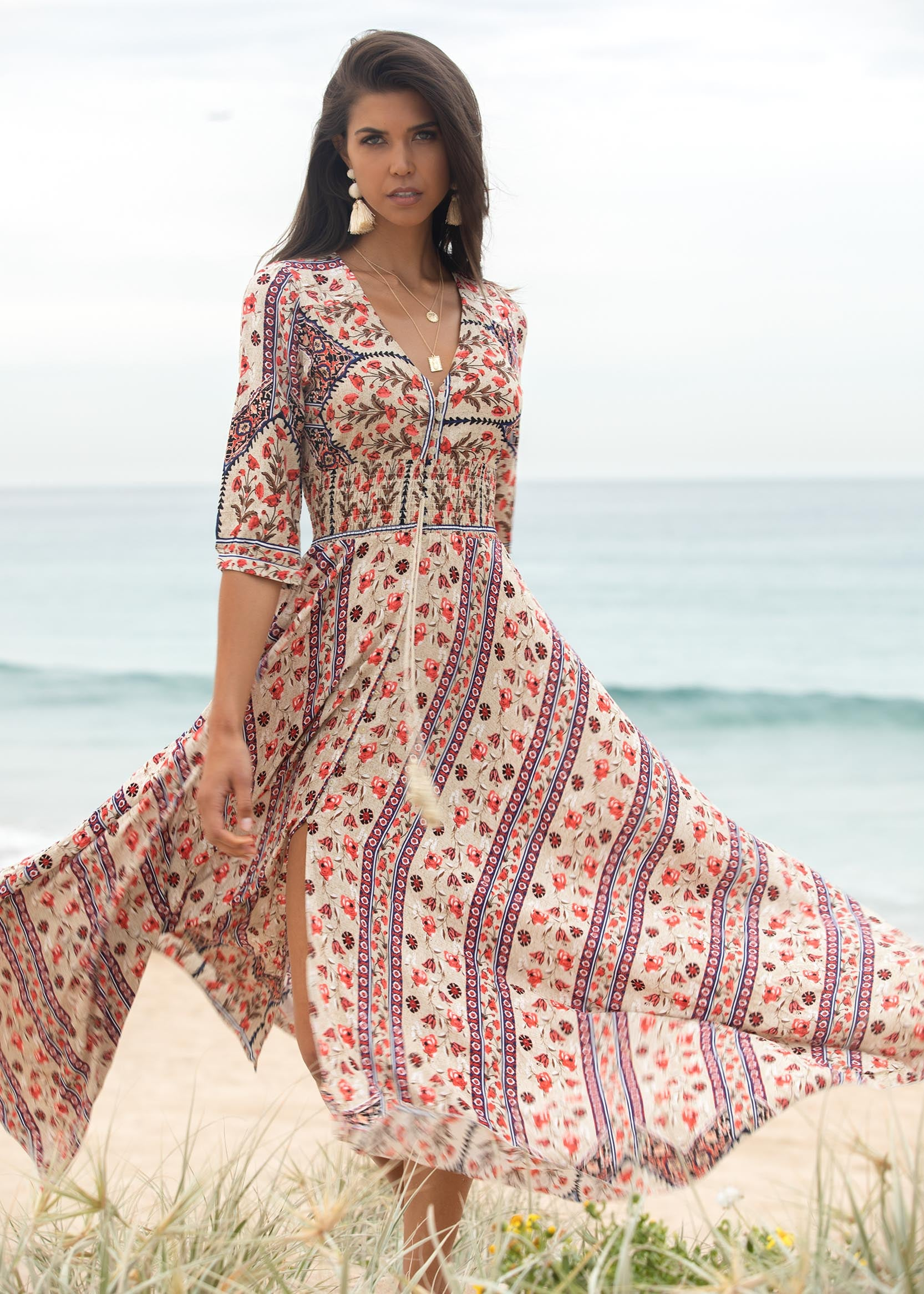 New Romantics Maxi Dress - Flynn