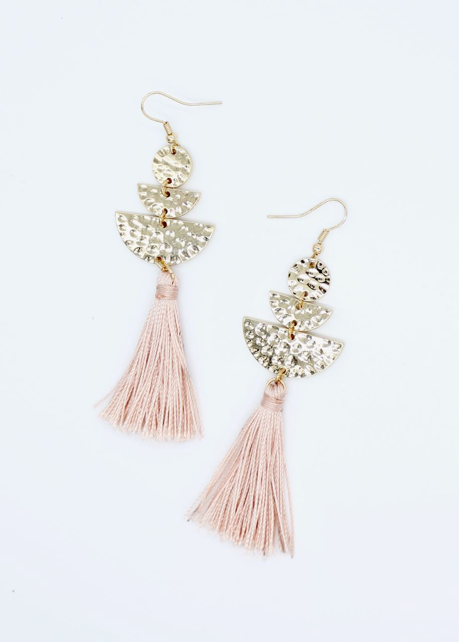 Roby Earrings - Pink