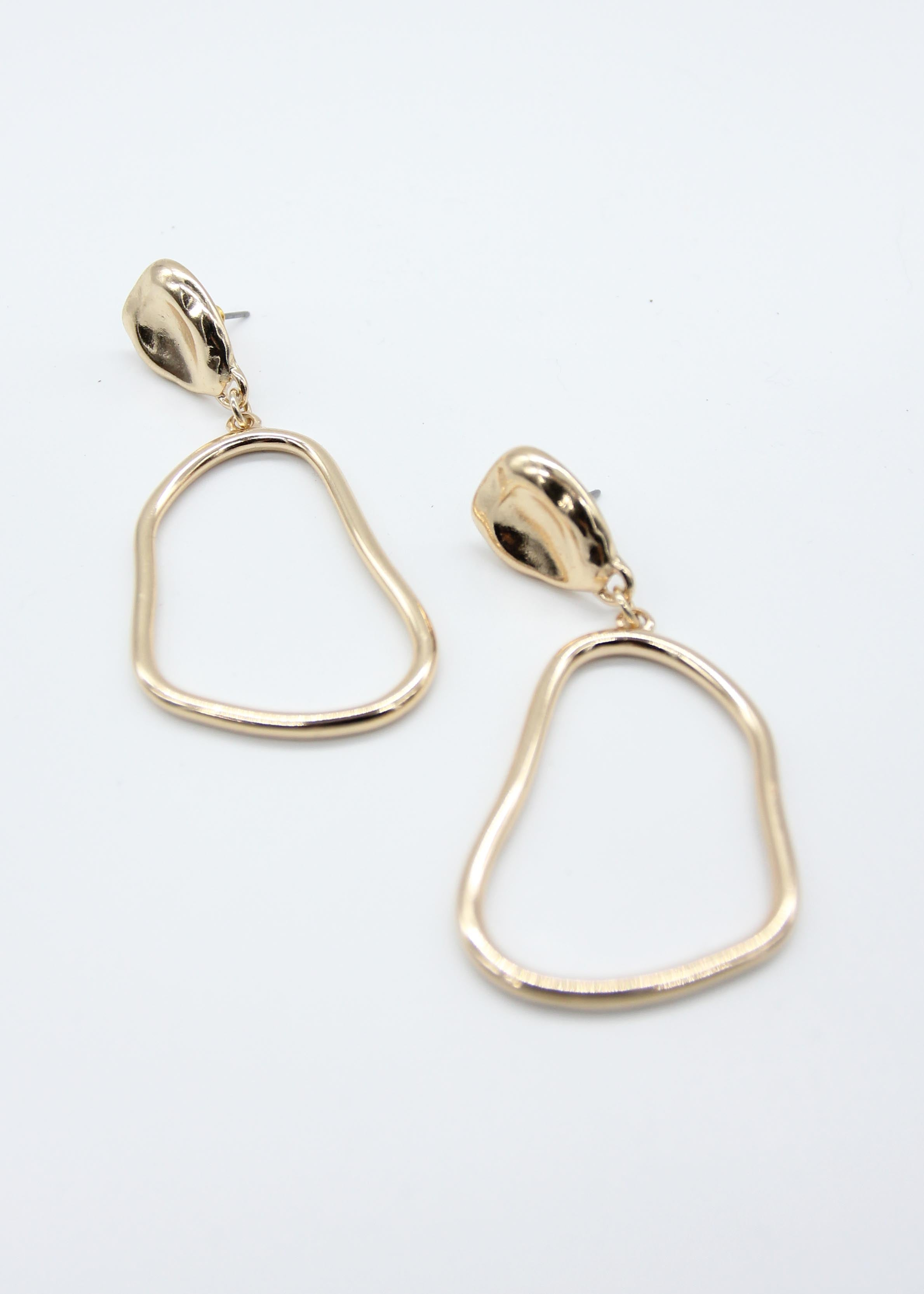 Rayley Earrings - Gold