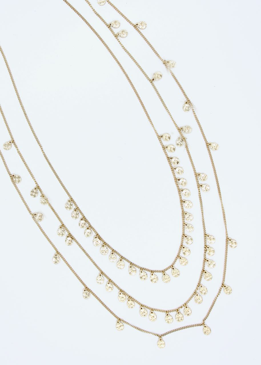 Tropez Necklace - Gold