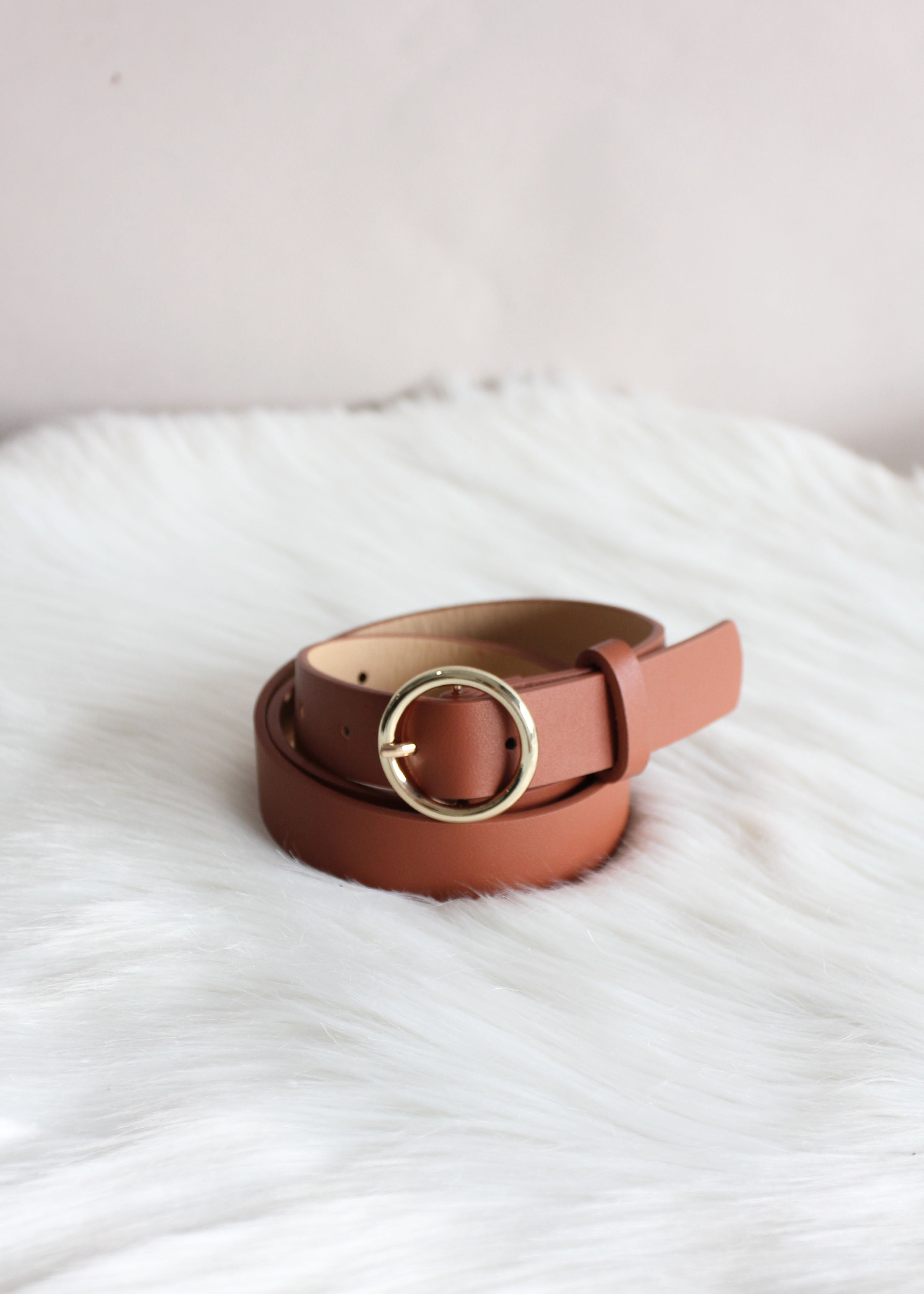 Tully Belt - Toffee