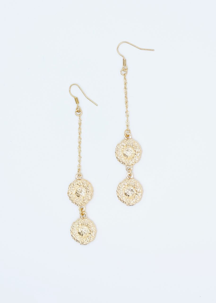 Vienna Earrings - Gold