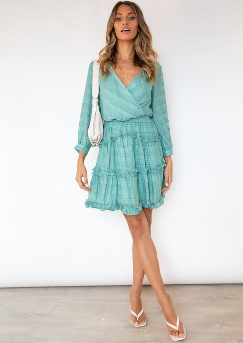 Save The Light Dress - Teal