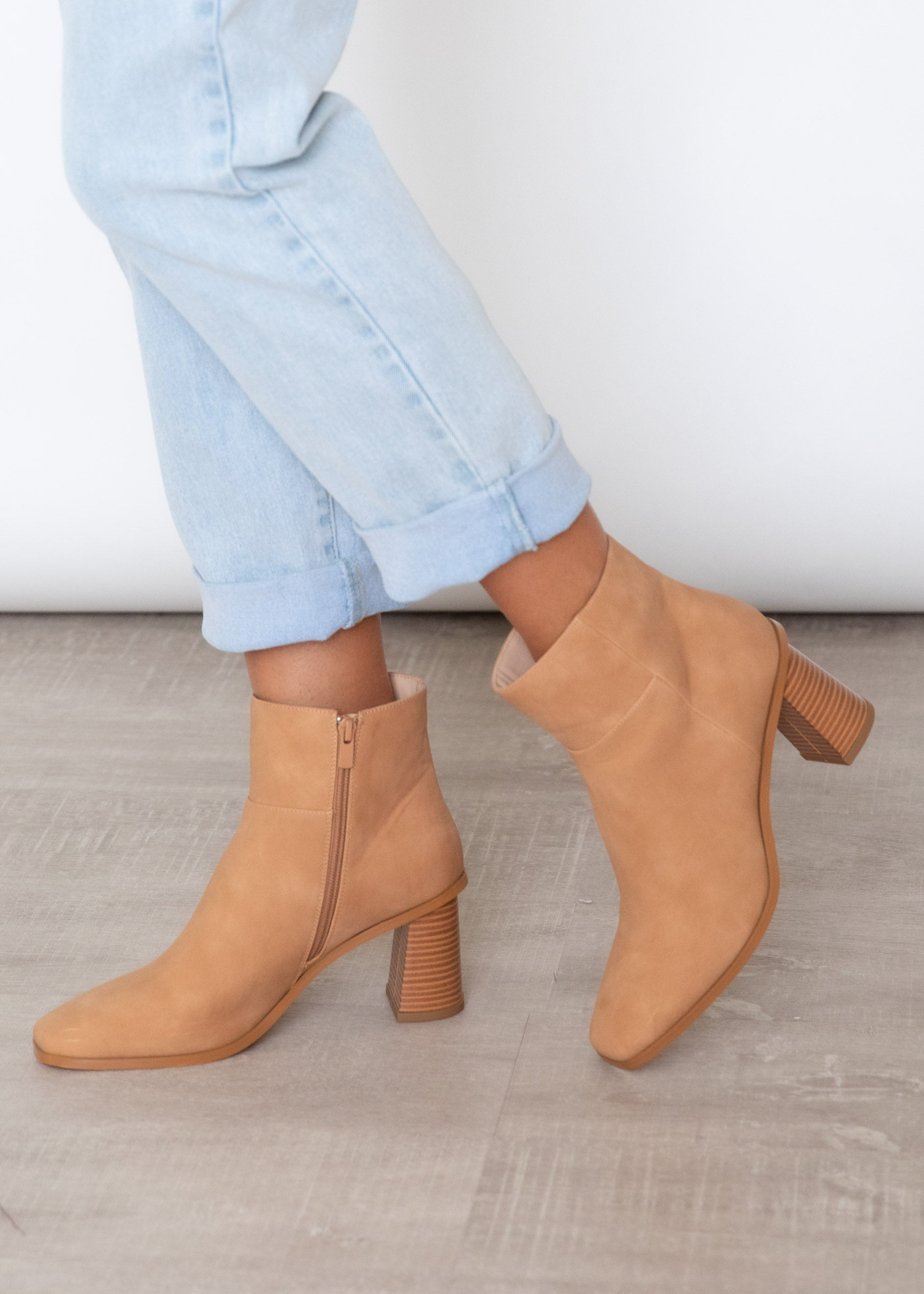Molly Boot - Camel Tonal
