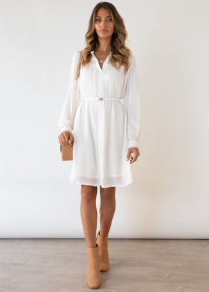 Taharu Dress - Off White