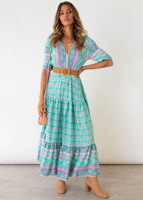 Tessa Maxi Dress - Paradiso