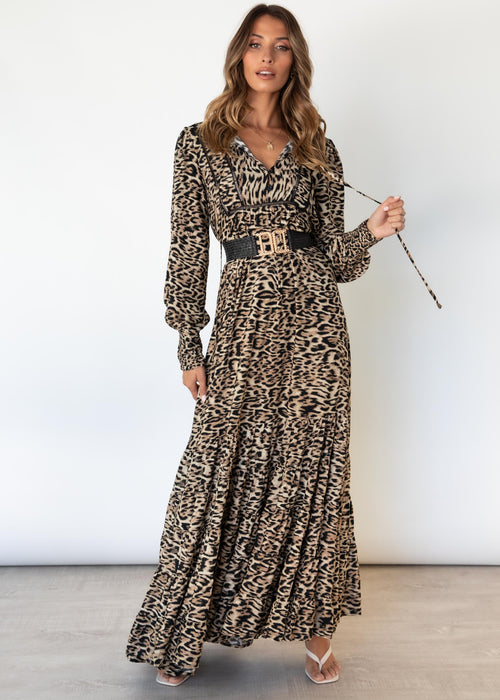 Clyde Maxi Dress - Jaguar