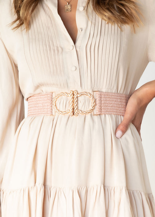Lunaria Belt - Blush