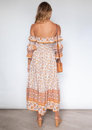 Better Together Midi Dress - Vintage Paisley