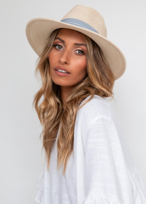 Domino Hat - Cream