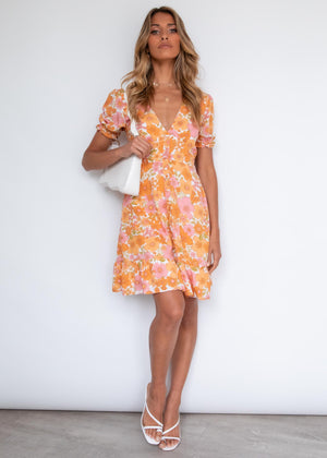 Ariana Dress - Audrey Sunset