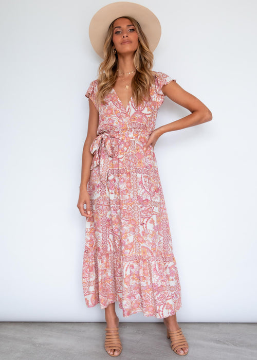 Promises Maxi Dress - Persian Paisley