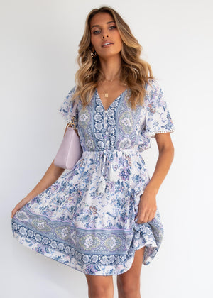 Love Story Dress - Pearl Paisley