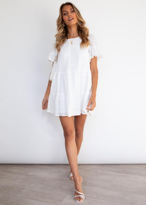 Rosado Dress - Off White