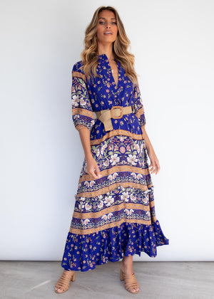 Murano Maxi Dress - Royal