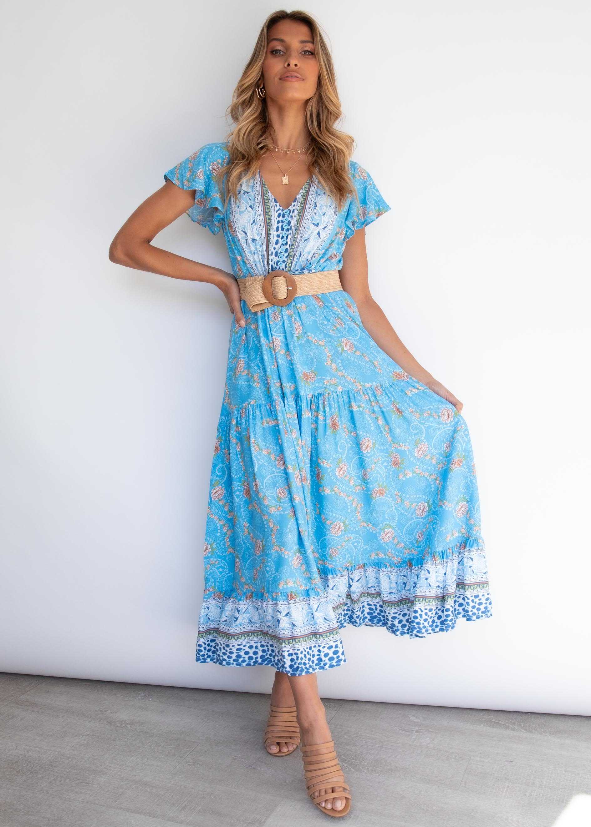 Sunny Again Maxi Dress - Honolulu