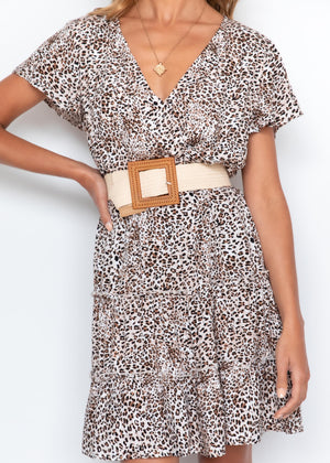 Tailynn Swing Dress - Leopard