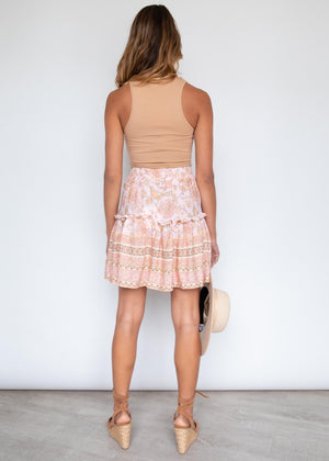 Larkyn Skirt - Peach Dreams