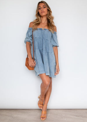 Tabby Dress - Denim