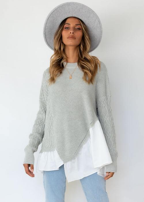 Queenie Sweater - Grey