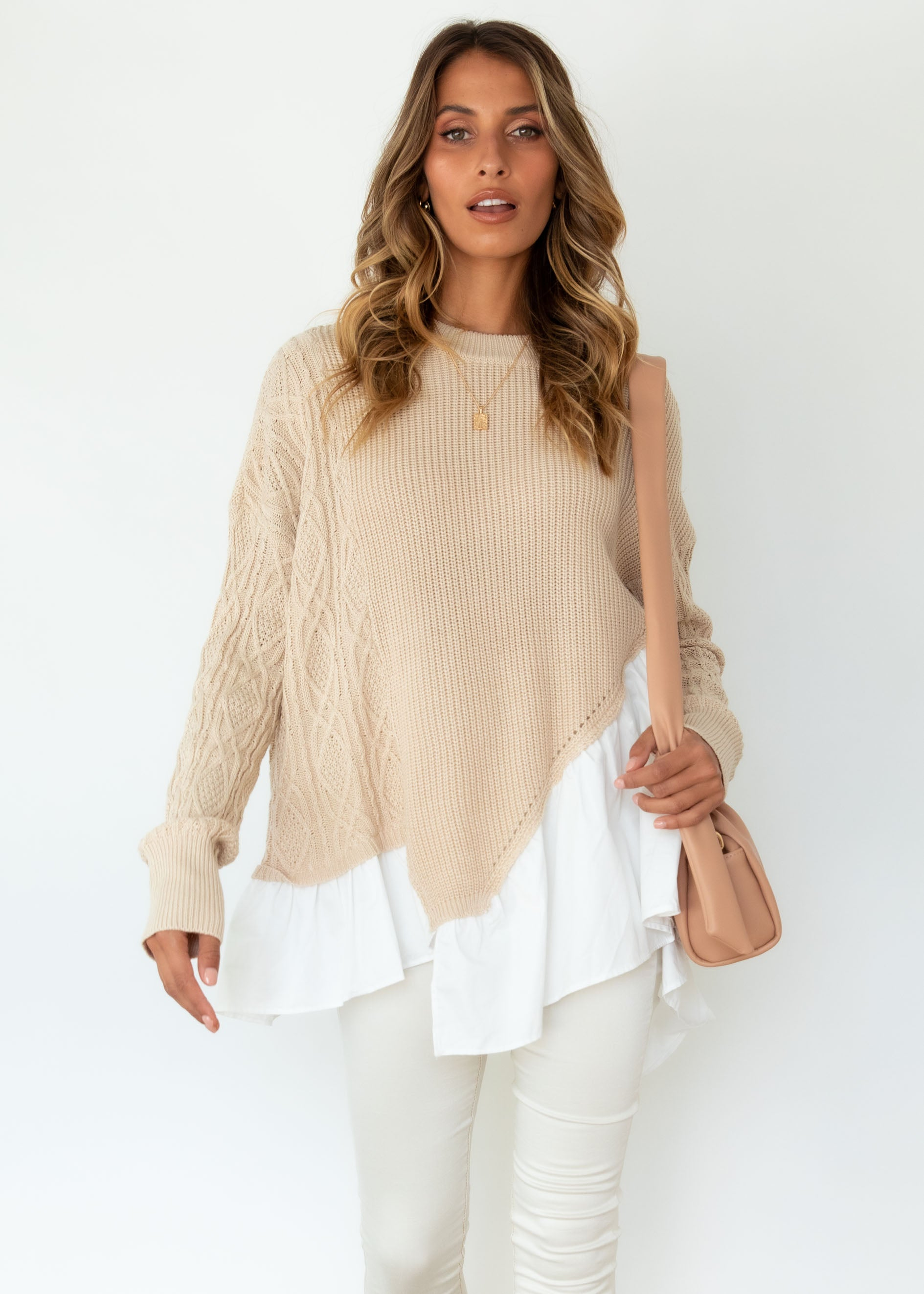 Queenie Sweater - Beige