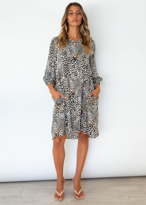 Unearthed Dress - Safari