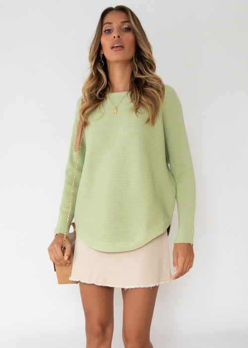 Better With You Sweater - Mint
