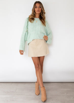 Oceania Sweater - Mint