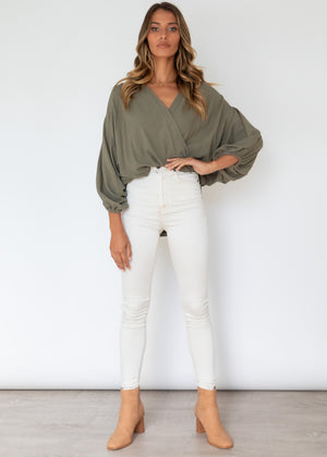 Ellis Blouse - Olive