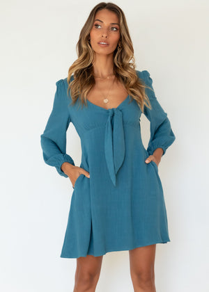 Aquila Dress - Teal