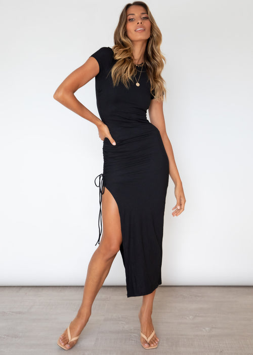 Keelie Maxi Dress - Black