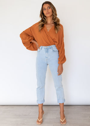 Ellis Blouse - Cinnamon