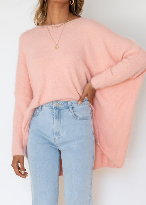 Emilee Sweater - Blush