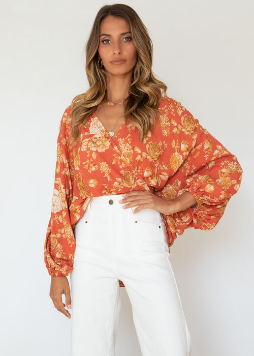 Ellis Blouse - Nadia Rust